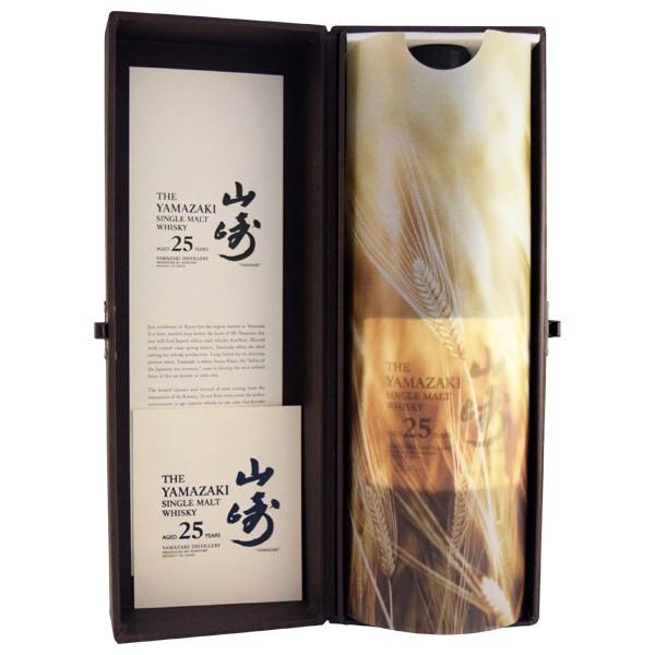 サントリー シングルモルトウイスキー 山崎 シングルモルトウイスキー 山崎 25年 700mlびん 1本の商品画像|2