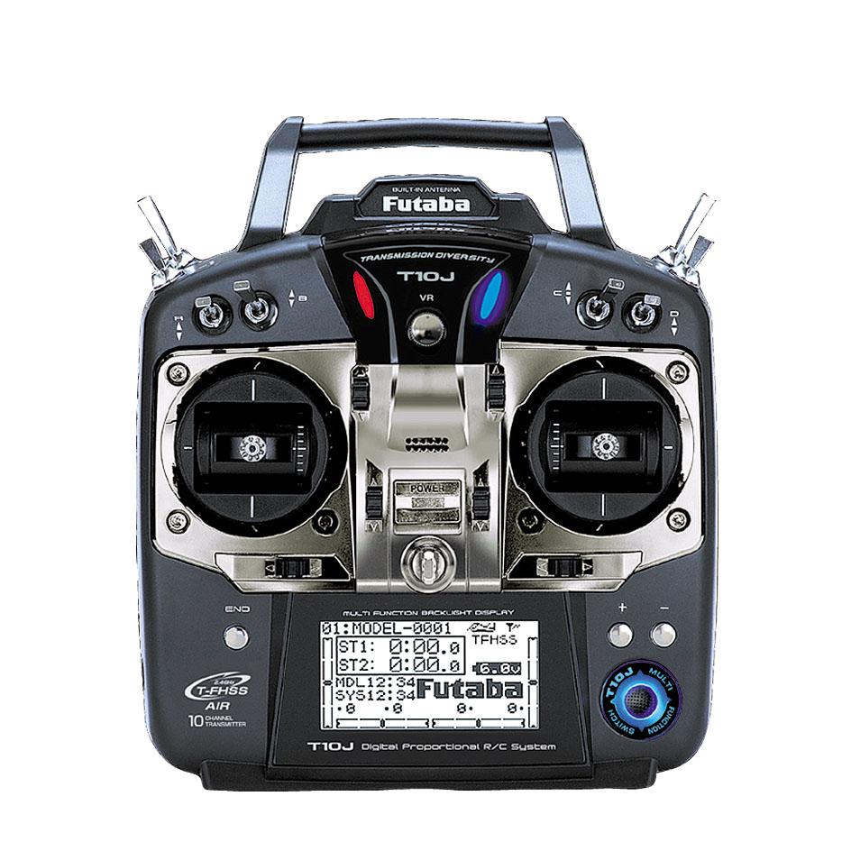 フタバ プロポ 10J(10ch-2.4GHz T-FHSS AIRモデル)/R3008SB(T-FHSS AIR)ヘリ用 T/Rセット 026355の商品画像|ナビ