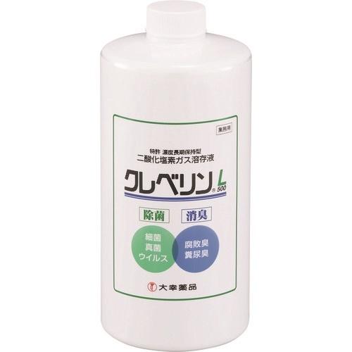 クレベリンL 1L (二酸化塩素ガス溶存液、希釈用)の商品画像|ナビ