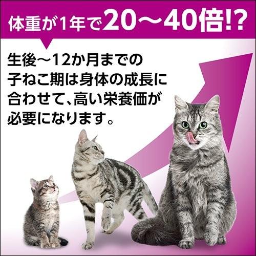 マースジャパン カルカン パウチ 12カ月までの子ねこ用 しらす入り まぐろ ゼリー仕立て 70g×16個の商品画像 2