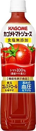 カゴメトマトジュース 食塩無添加 スマートPET 720ml × 15本 ペットボトルの商品画像|2