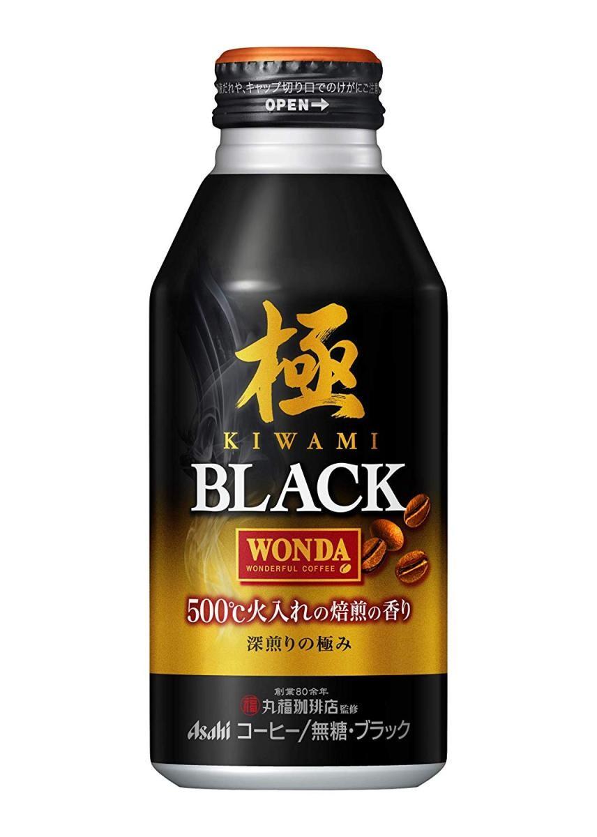アサヒ飲料 ワンダ 極 ブラック 400g×24本 ボトル缶の商品画像|3