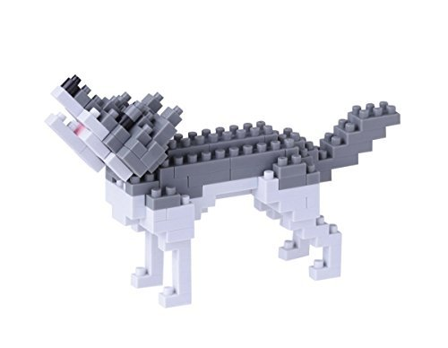 ナノブロック オオカミ NBC_144の商品画像 ナビ