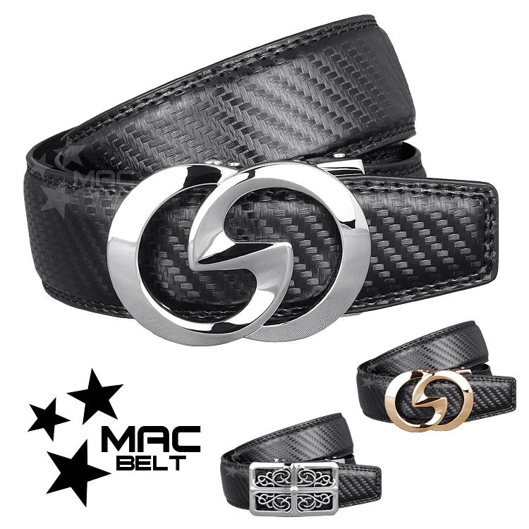 ベルト メンズ 革 MACBELT マックベルト 穴なし スライド式 牛革 ビジネス ベルト メンズ 簡単ウエスト調整 大きいサイズ 送料無料 MBD