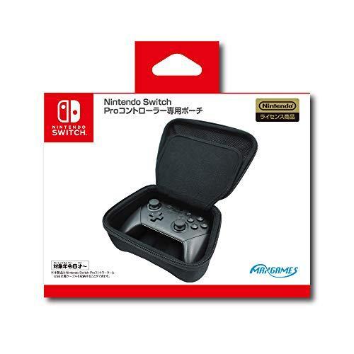 Nintendo Switch Proコントローラー専用ポーチ ブラック HACP-04BKの商品画像|ナビ