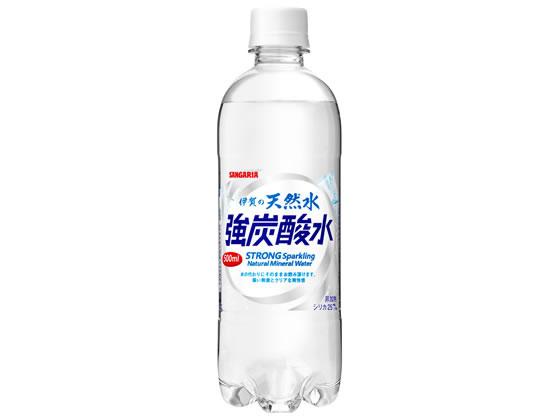 伊賀の天然水 強炭酸水 500ml × 1本 ペットボトルの商品画像 ナビ