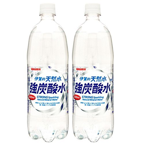 伊賀の天然水 強炭酸水 1L × 24本 ペットボトルの商品画像|ナビ