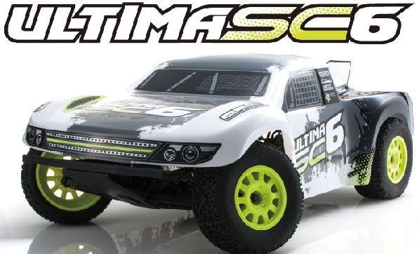 京商 1/10RC アルティマSC6 レディセット(電動 2WD ショートコーストラック)30859の商品画像 ナビ