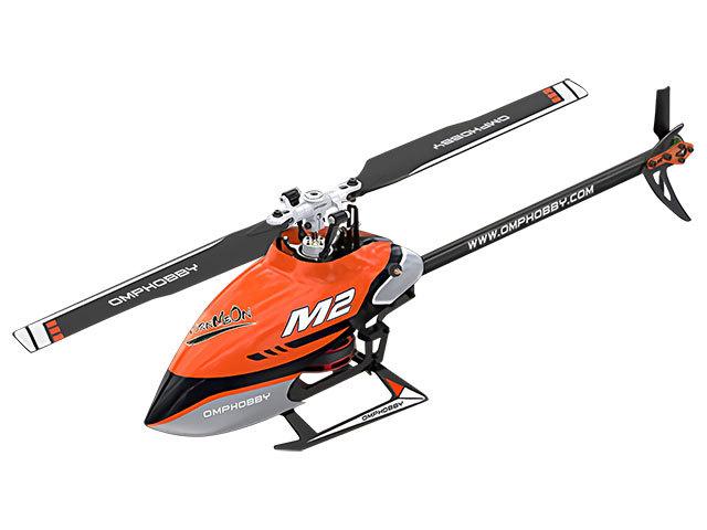 ハイテック デュアルブラシレスダイレクト3D ヘリコプター M2 V2(2020) チャームオレンジ M22020-CHORの商品画像|ナビ