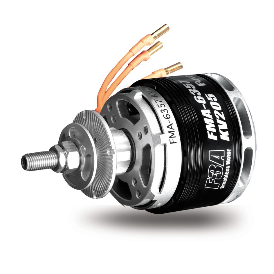 双葉電子工業 モーター F3A競技用のダイレクトモーター FMA-6357KV205の商品画像 ナビ
