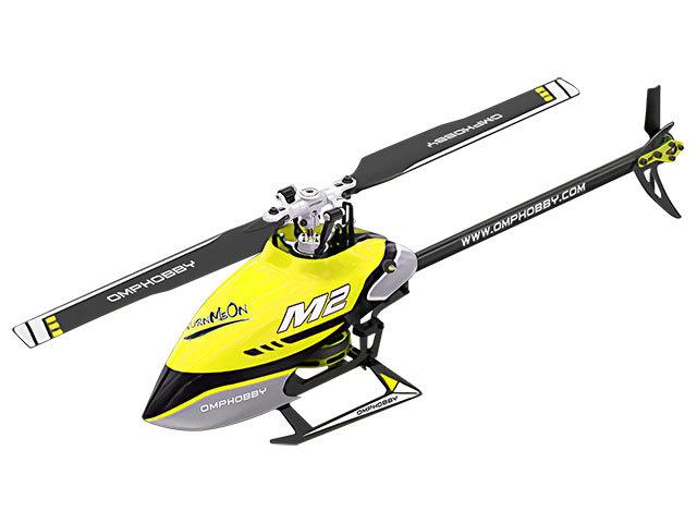ハイテック デュアルブラシレスダイレクト3D ヘリコプター M2 V2(2020) レーシングイエロー M22020-RAYEの商品画像|ナビ