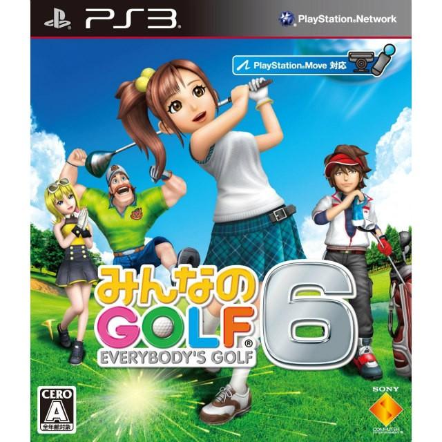 【PS3】ソニー・インタラクティブエンタテインメント みんなのGOLF 6の商品画像|ナビ
