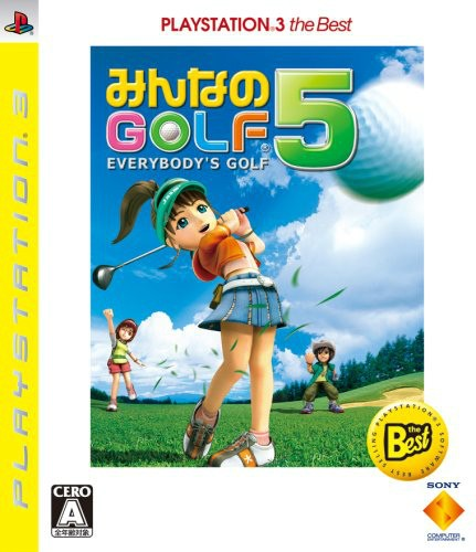 【PS3】ソニー・インタラクティブエンタテインメント みんなのGOLF 5 [PLAYSTATION3 the Best]の商品画像 ナビ