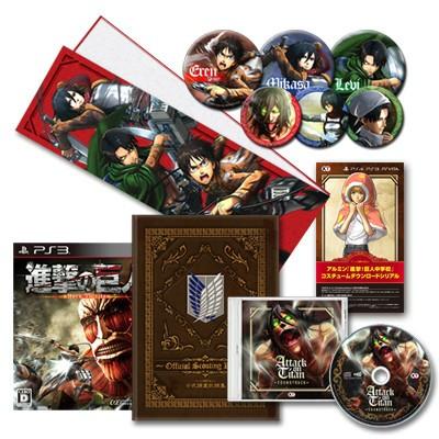【PS3】コーエーテクモゲームス 進撃の巨人 [TREASURE BOX]の商品画像 ナビ
