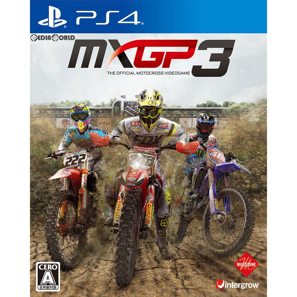 【PS4】 MXGP3 - The Official Motocross Videogameの商品画像|ナビ