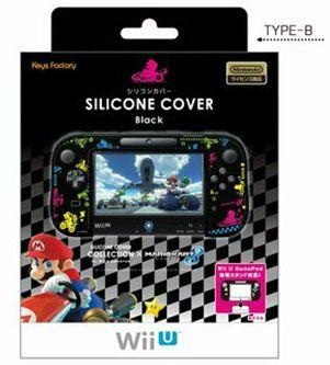 キーズファクトリー シリコンカバーコレクション for Wii U GamePadマリオカート8 Type-Bの商品画像|ナビ