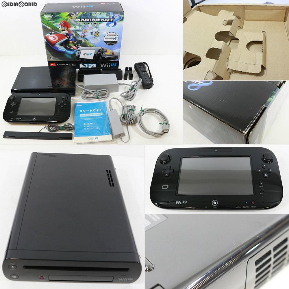 任天堂 Wii U すぐに遊べる マリオカート8 セット クロの商品画像|ナビ
