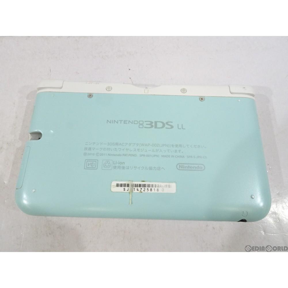 任天堂 ニンテンドー3DS LL ミント×ホワイトの商品画像|3