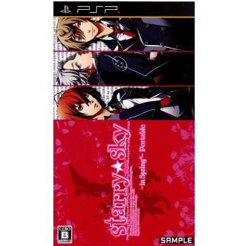 【PSP】ハニービー Starry☆Sky ~in Spring~ ポータブル(限定版)の商品画像 ナビ