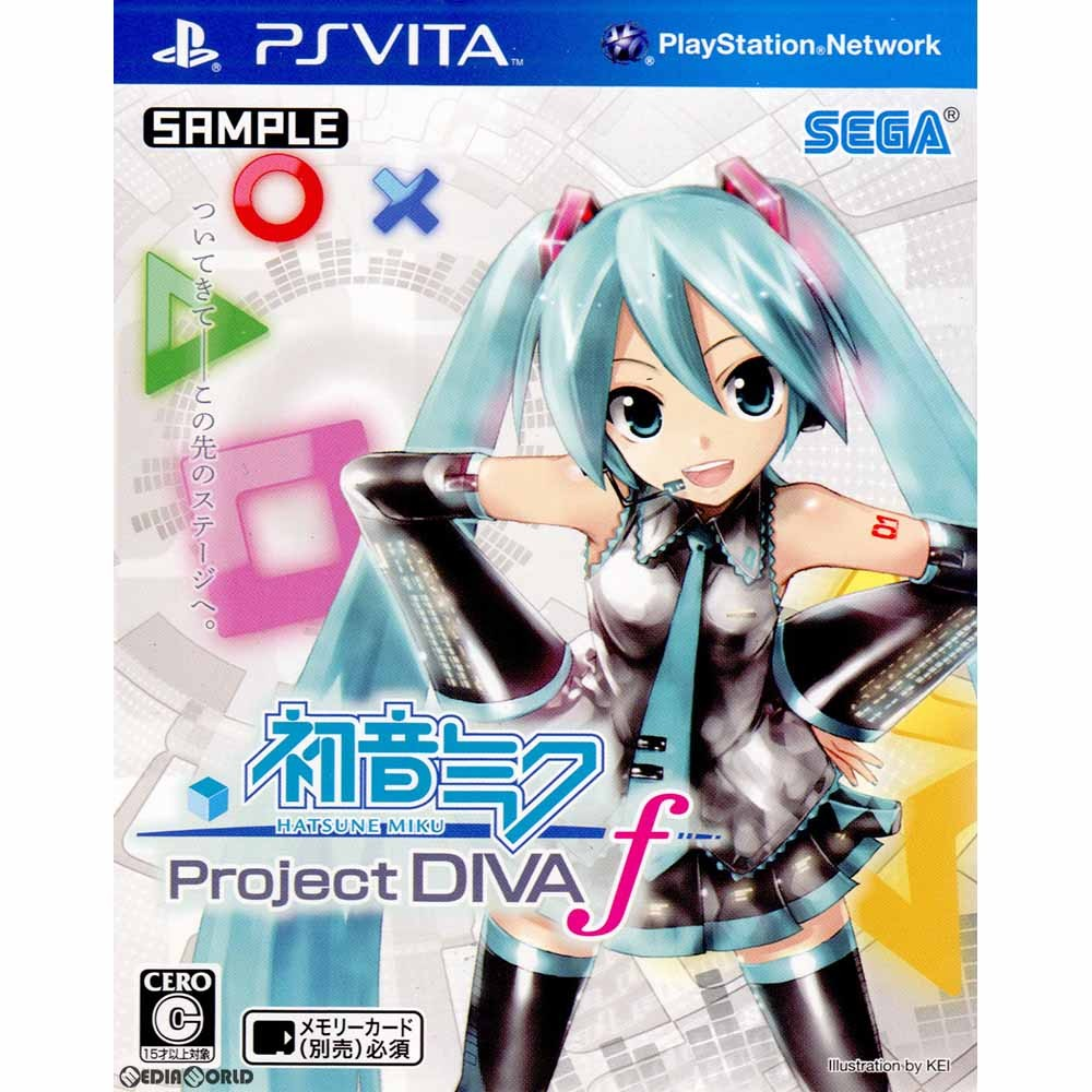 【PSVita】セガ 初音ミク -Project DIVA- fの商品画像|ナビ