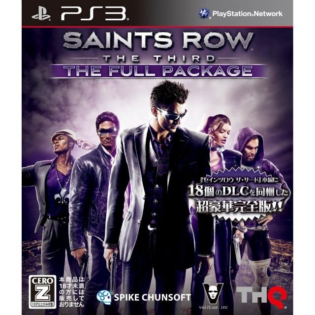 【PS3】スパイク・チュンソフト セインツロウ ザ・サード フルパッケージの商品画像|ナビ