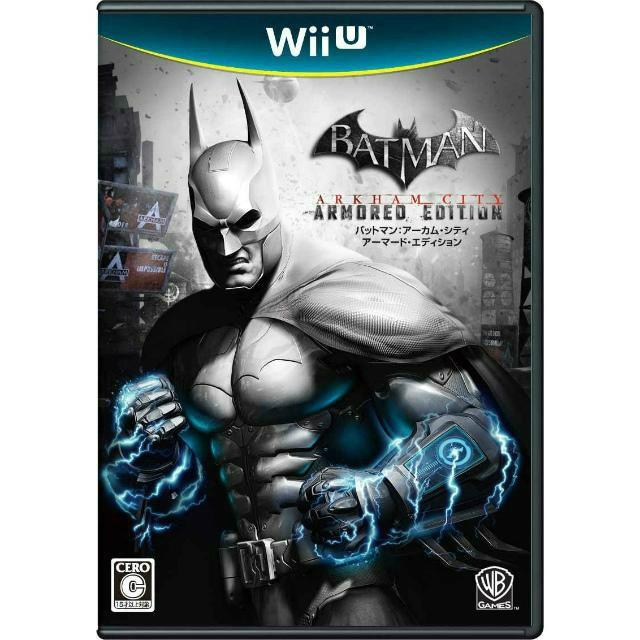 【Wii U】ワーナー・エンターテイメント・ジャパン バットマン:アーカム・シティ アーマード・エディションの商品画像|ナビ