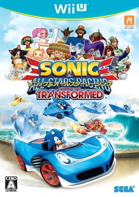 【Wii U】セガ ソニック&オールスターレーシング TRANSFORMEDの商品画像 ナビ