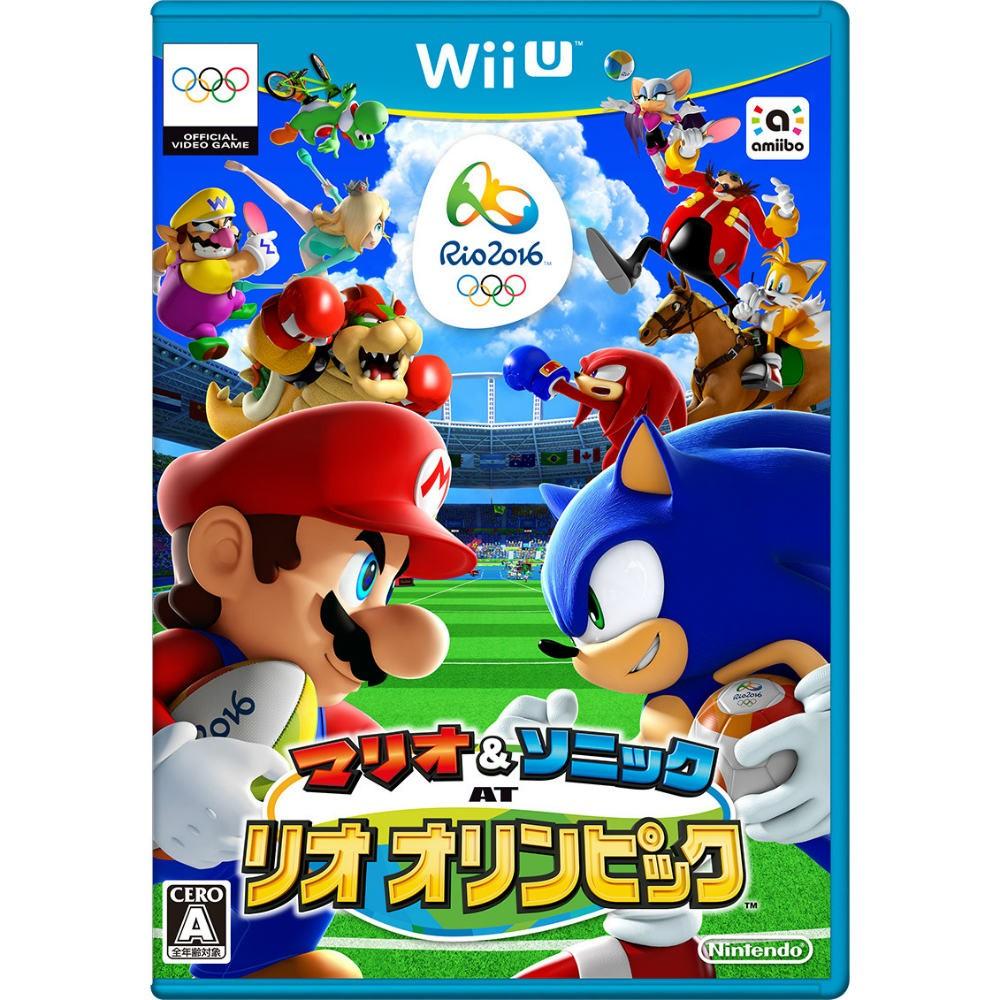 【Wii U】任天堂 マリオ&ソニック AT リオオリンピックの商品画像|ナビ