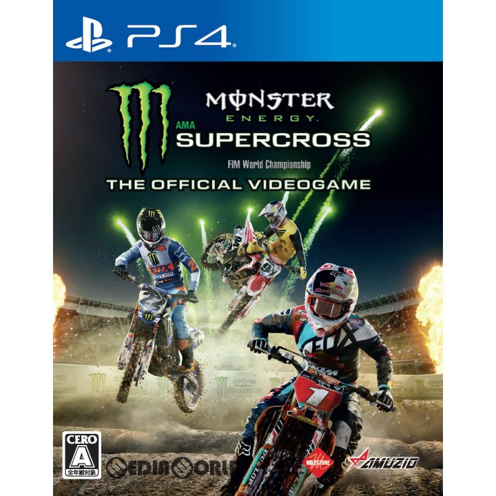 【PS4】 Monster Energy Supercross-The Official Videogameの商品画像 ナビ