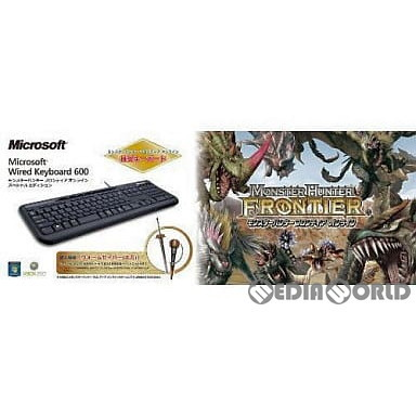Xbox360 Microsoft Wired Keyboard 600 モンスターハンター フロンティア オンライン スペシャルエディション ANB-00036の商品画像|ナビ