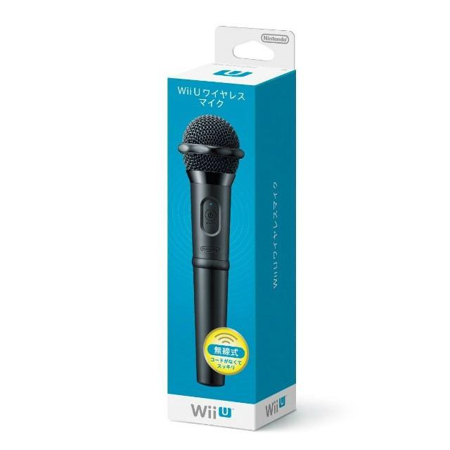 任天堂 Wii U ワイヤレスマイクの商品画像|ナビ