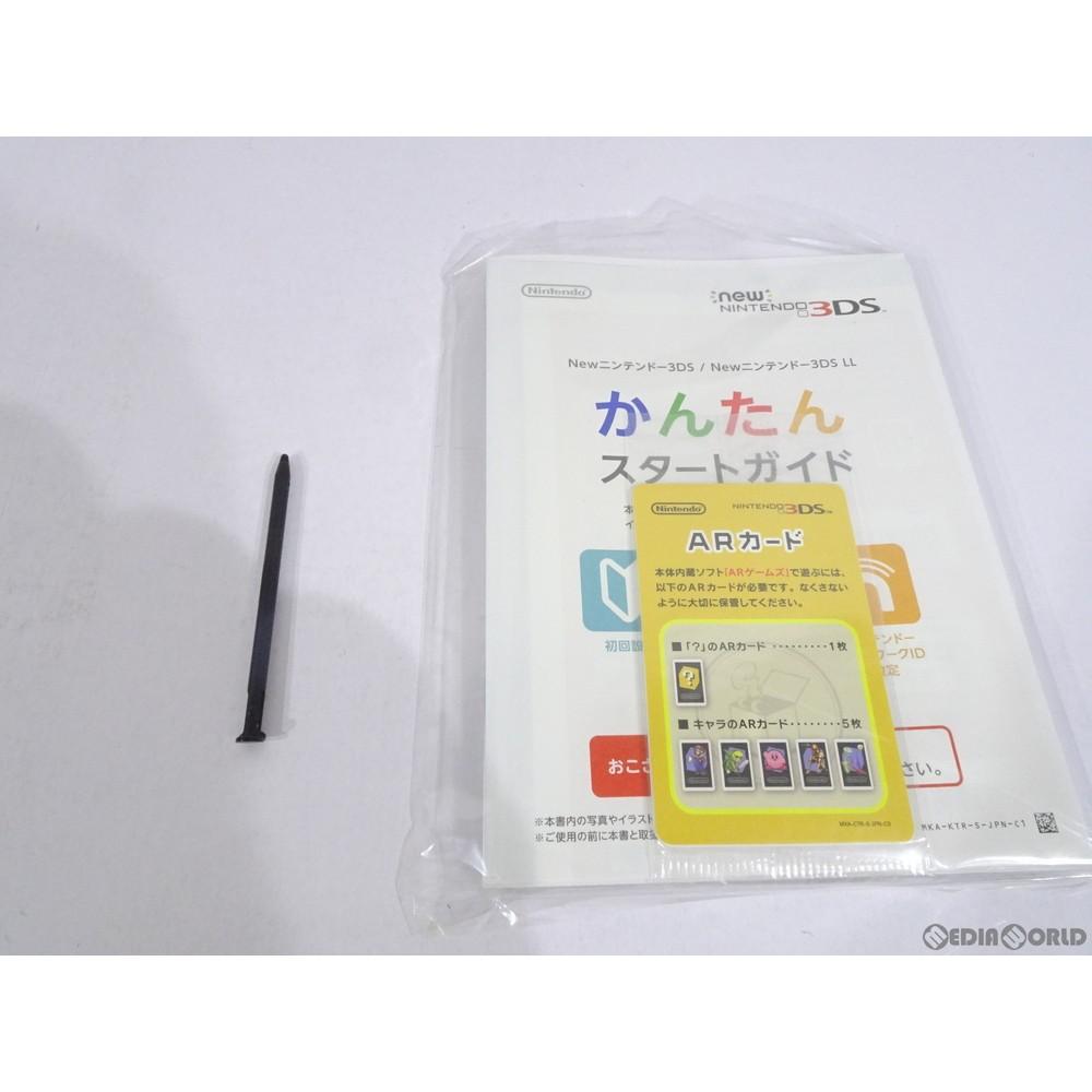 任天堂 Newニンテンドー3DS ブラックの商品画像|2