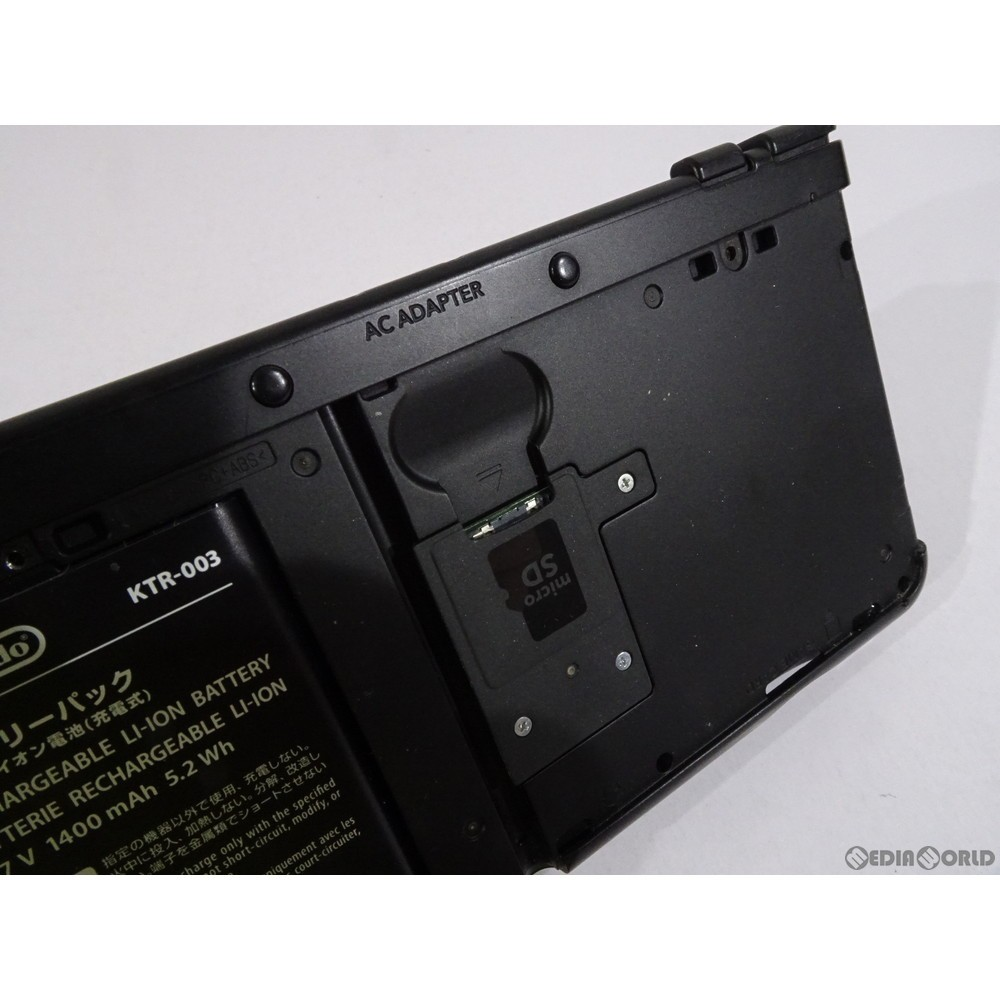 任天堂 Newニンテンドー3DS ブラックの商品画像|4