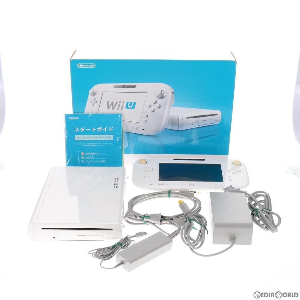 任天堂 Wii U BASIC SET [shiro](Wii U ベーシックセット シロ)WUP-S-KAAAの商品画像|ナビ
