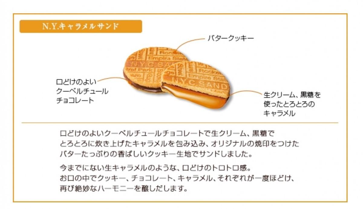 東京玉子本舗 N.Y.キャラメルサンド 8個入×1個の商品画像 2