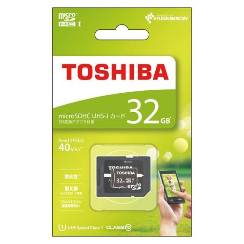 東芝 MSDAR40N MSDAR40N32G (32GB)の商品画像|ナビ