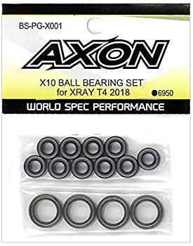 AXON X10 BALL BEARING SET for XRAY T4 2018 BS-PG-X001の商品画像 ナビ
