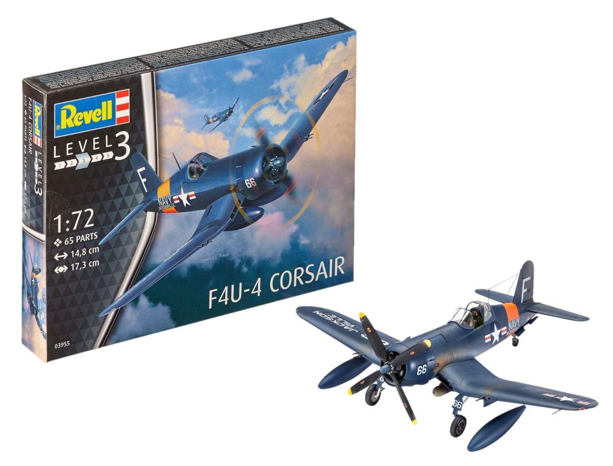 レベル ドイツ F4U-4 コルセア(1/72スケール 03955)の商品画像 ナビ