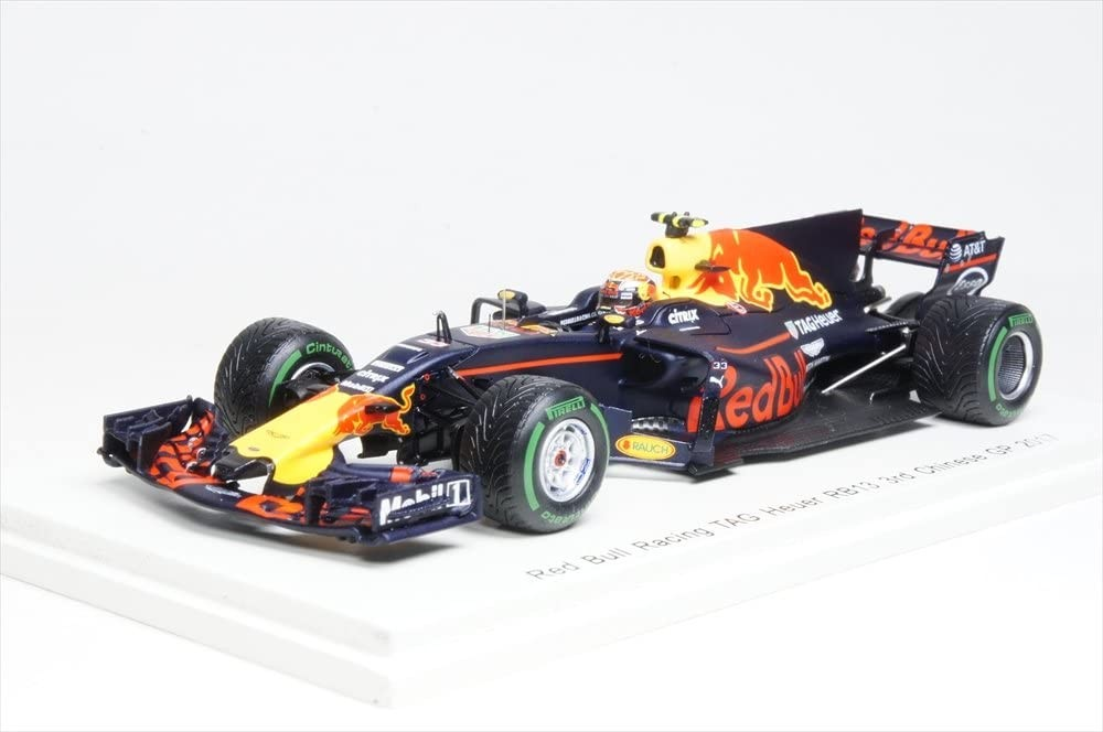 Red Bull Racing TAG Heuer RB13 No.33 3rd Chinese GP 2017 Max Verstappen (1/43スケール S5037)の商品画像|ナビ
