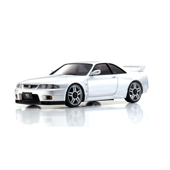 京商 ASC MA020S 日産スカイライン GT-R R33 Vスペック シルバー MZP438Sの商品画像 ナビ