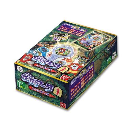 妖怪ウォッチ 妖怪アーク 1st ~ひらけ!第一の扉~ BOX 1BOX=10パック入りの商品画像|ナビ