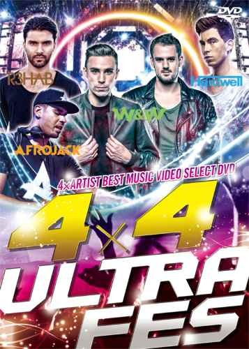 フルムービー フェス W&W ハードウェル アフロジャック リハブ4×4 Ultra Fes -4×Artist Best Music Video Select DVD- / V.A