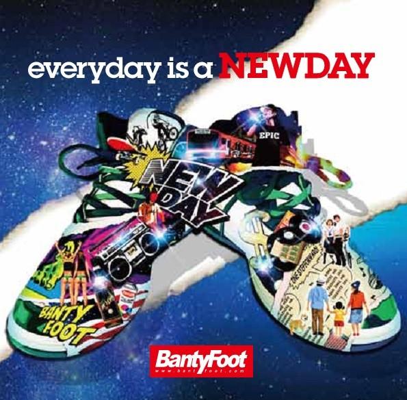 レゲエ・アルバムEvery Day is a New Day / Banty Foot