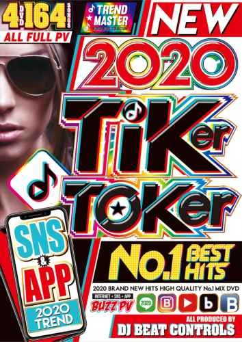 洋楽DVD 2020年 超最先端人気曲 Tik Tok 4枚組 アリアナグランデ セレーナゴメスNew 2020 Tiker Toker No.1 Best Hits / DJ Beat Controls
