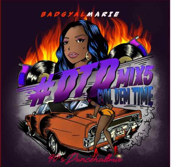 90年代 ギャルチューン レゲエ#DTD5 -Dem Time Deh- Gyal Dem Time 90s dancehall selection / Bad Gyal Marie