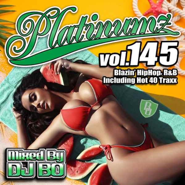 2020 8月 新譜 R&B ヒップホップ 人気シリーズ チャーリープース ジョンレジェンド など収録Platinumz Vol.145 / DJ Bo