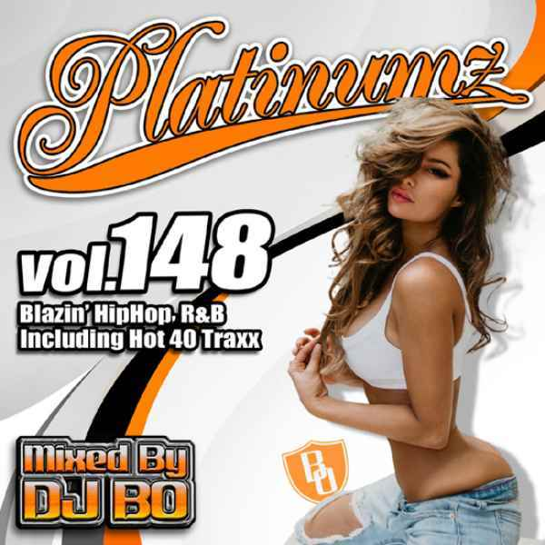 最新HipHopとR&B! 洋楽CD MixCD Platinumz Vol.148 / DJ Bo【M便 1/12】