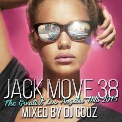 絶対に外せない今年のビッグヒット曲が全てこの1枚に!【MixCD・MIX CD】Jack Move 38 -The Greatest Los Angeles Hits 2015- / DJ Couz【M便 2/12】