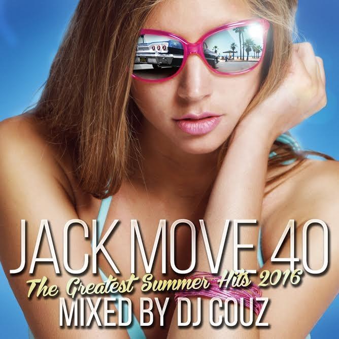 カリフォルニア・サンシャインが1番似合う一枚!【洋楽 MixCD・洋楽CD】Jack Move 40 -The Greatest Summer Hits 2016- / DJ Couz【M便 2/12】