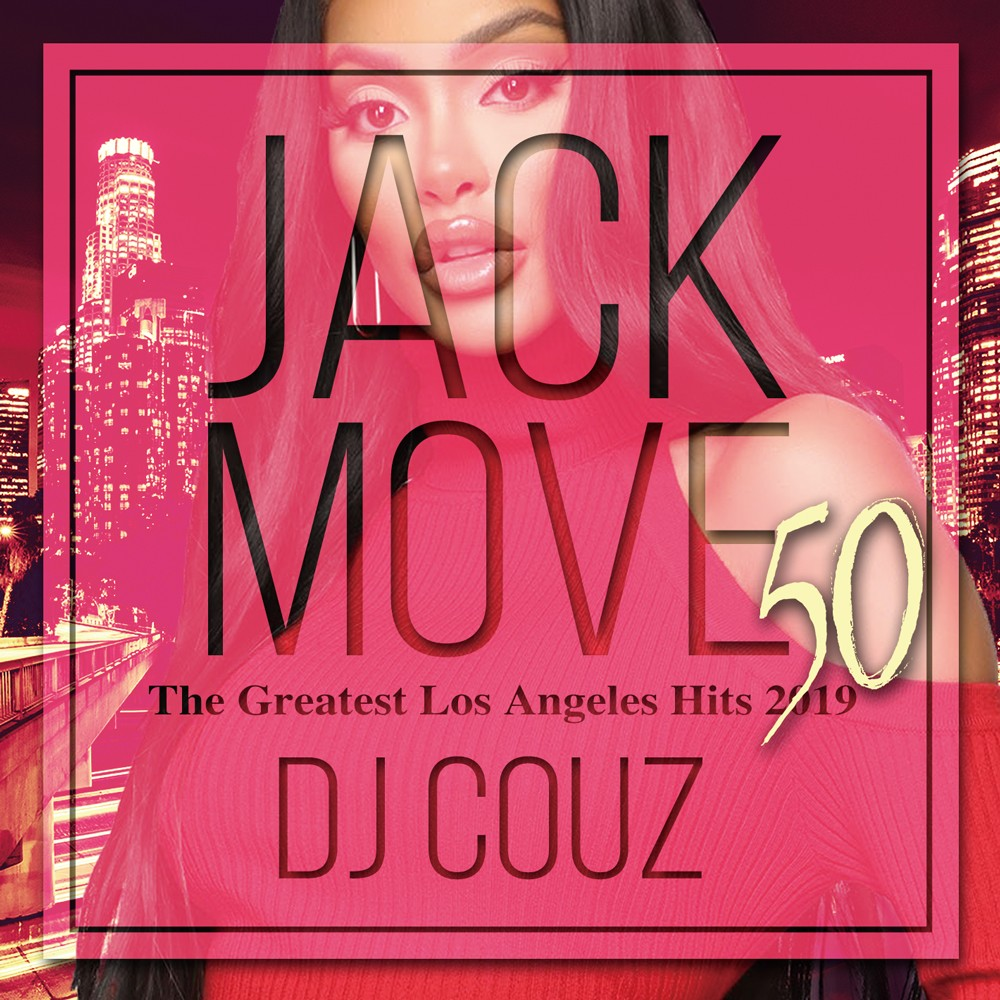 本場志向のヘッズにマストなHip Hop 'n R&B 約110曲!【洋楽CD・MixCD】Jack Move 50 -The Greatest Los Angeles Hits 2019- / DJ Couz【M便 2/12】